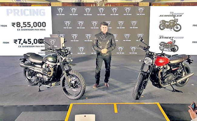 Triumph Motorcycle India Announces Extended Warranty For Complete Range - Sakshi