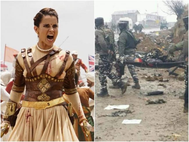 Kangana Ranaut Fires Over Pulwama Attack - Sakshi