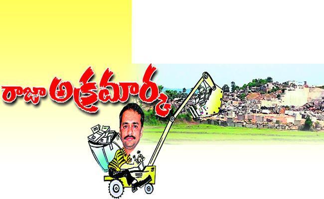 Chodavaram MLA KSNS Raju Illegal mining  - Sakshi