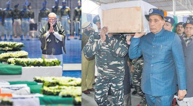 PM Modi tells forces after Pulwama attack - Sakshi