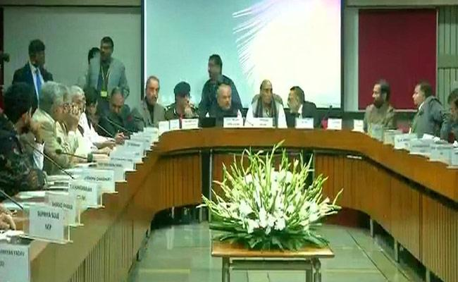 All Party Meet Ends In Parliament Over Pulwama Attack - Sakshi