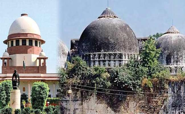 Supreme Court To Hear Plea On Land Acquisition At Ayodhya - Sakshi
