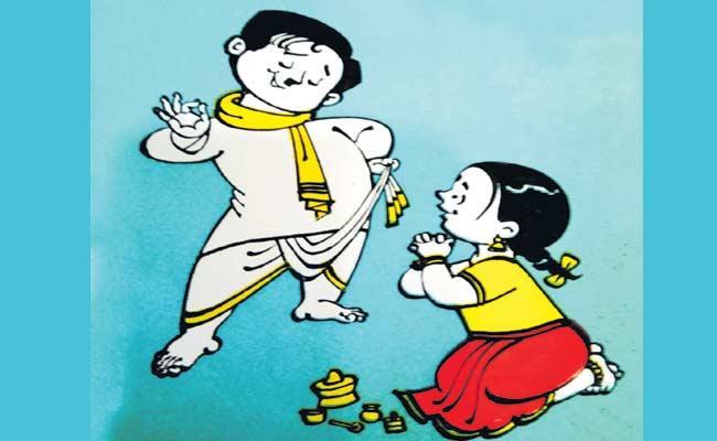 Sri Ramana Satirical Story On Chandrababu And Modi Comments - Sakshi