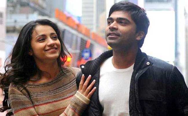 Simbu, Trisha to Reunit in New Movie - Sakshi