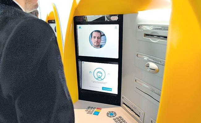 ATM With Face Recognition In Barcelona - Sakshi