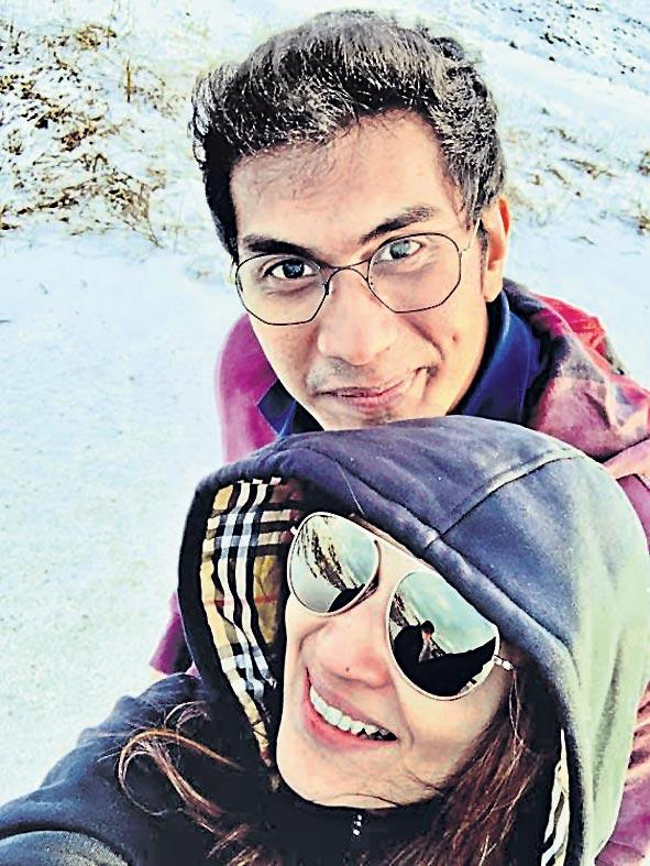 Soundarya Vishagan honeymoon on iceland - Sakshi