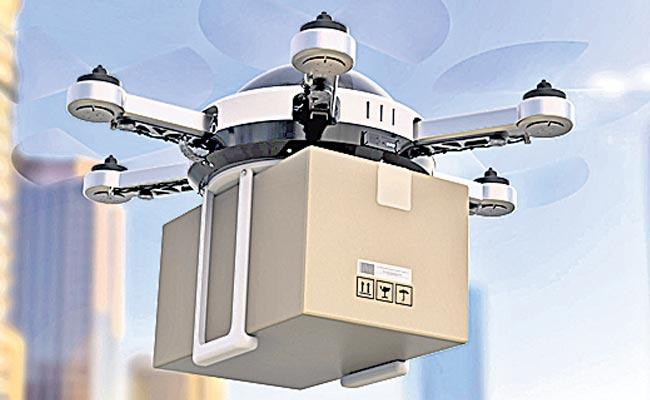 250 kg Weight loaded drones - Sakshi