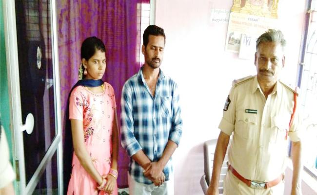Love Couple Asks Police Protection in Chittoor - Sakshi