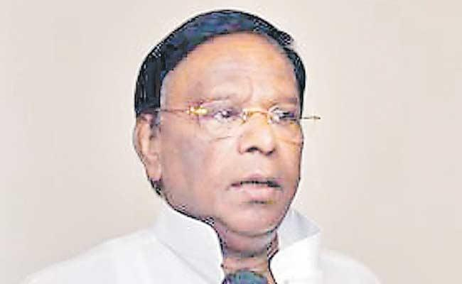 Puducherry CM Narayanasamy Strike Enters 5th day - Sakshi