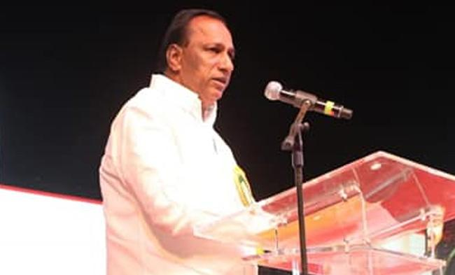 Chamakura Malla Reddy Happy With Cabinet Post - Sakshi