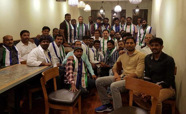 YSRCP NRI Wing Conducts party members get together in Singapore - Sakshi