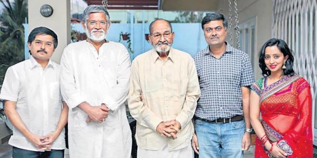 K Viswanath Speech At Viswadarsanam Movie Teaser Launch - Sakshi