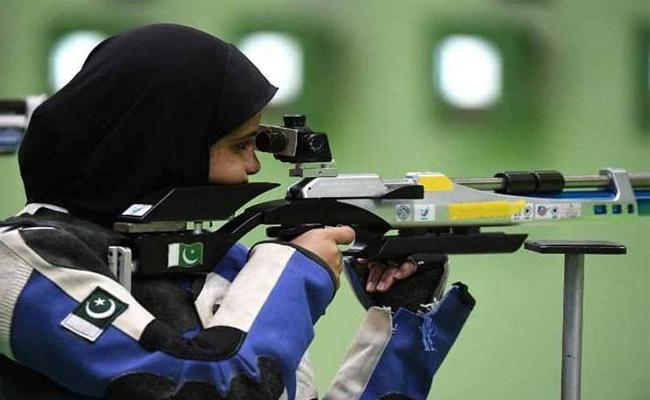 Pakistan Shooters Granted Visa For World Cup In New Delhi - Sakshi