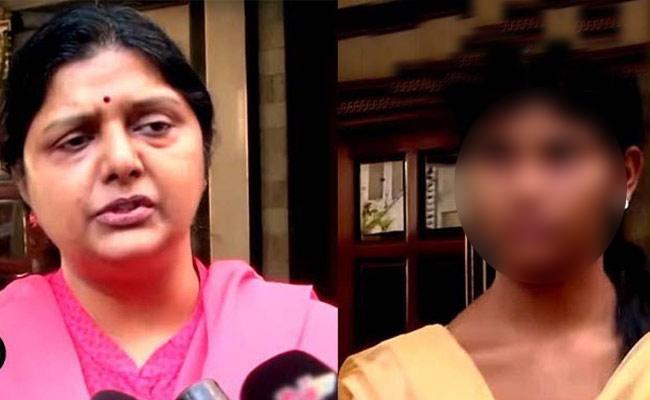 Bhanupriya Maid and Her Mother Arrested - Sakshi