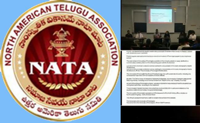 Nata Helps Farmington University Affected Students - Sakshi