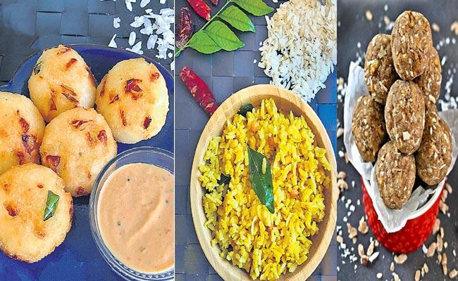 Super snack dishes will be in the pinch - Sakshi