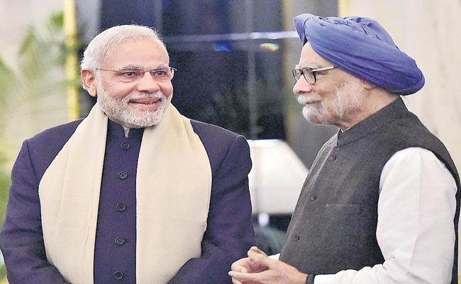 Shekhar Gupta Article On Narendra Modi And Manmohan Singh - Sakshi