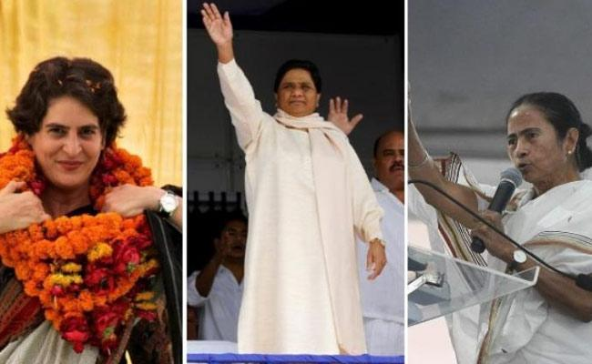 Three Powerful Women Leaders Challenge To Modi - Sakshi