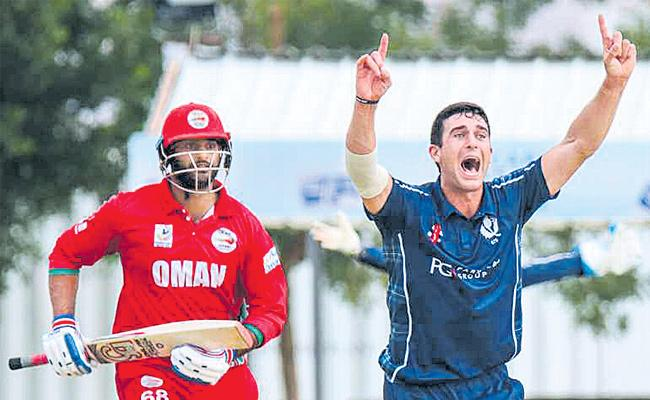 Scotland tour of Oman: Tourists bowl hosts out for 24 in 10-wicket win - Sakshi