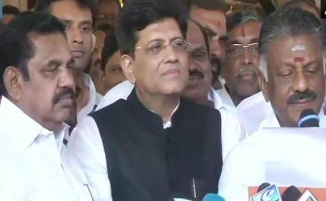 Alliance Fixed Between AIADMK And BJP - Sakshi