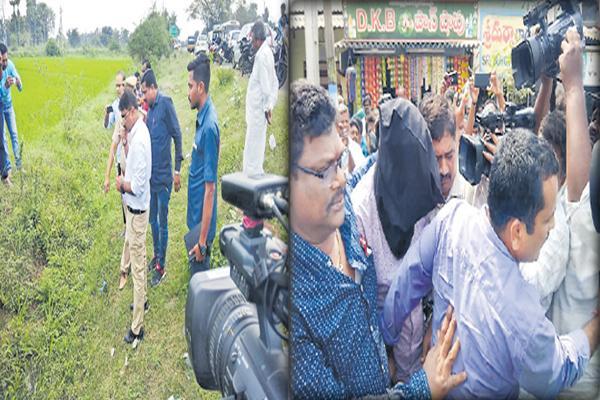 Crime Scene Re-Construction from Jubilee hills to Nandigama in Jayaram Murder Case - Sakshi