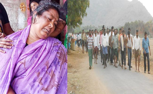Farmer Funeral Programme Complete in Guntur - Sakshi