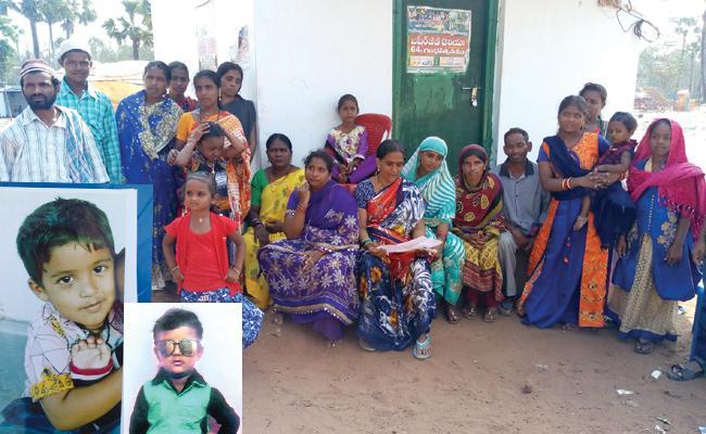 Two Children Missing in Basheer Baba Festival - Sakshi