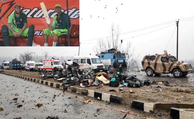 HPCA Stadium Removed 13 Pakistan Cricketer Photos - Sakshi