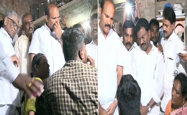 Former Kotaiah Suspicious Death YSRCP Fact Finding Committee Visit Kondaveedu - Sakshi
