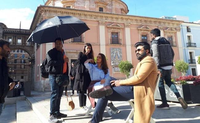 Sharwanand And Kajal Agarwal Movie Stills Leaked - Sakshi