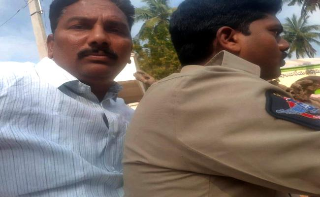 Police Arrest Dalit Leaders Over TDP MLA Chintamaneni Prabhakar Complaint - Sakshi