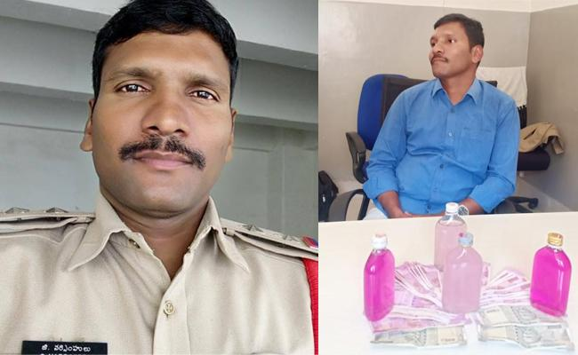 ACB Caught Maheswaram Sub inspector While taking Bribe - Sakshi