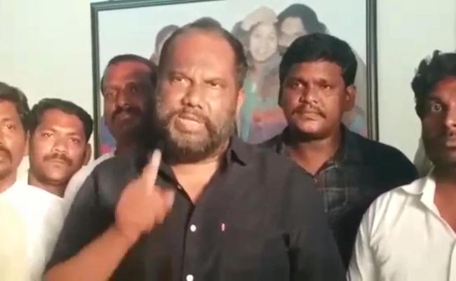 YSRCP Leader Pandula Ravindra Babu Warns Chintamaneni Prabhakar - Sakshi