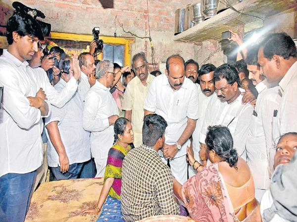 Ummareddy Venkateswarlu Fires On Chandrababu Govt - Sakshi