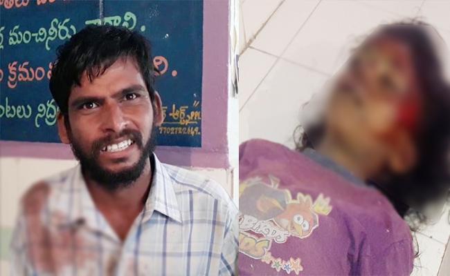 Girl Child Murdered in Krishna - Sakshi
