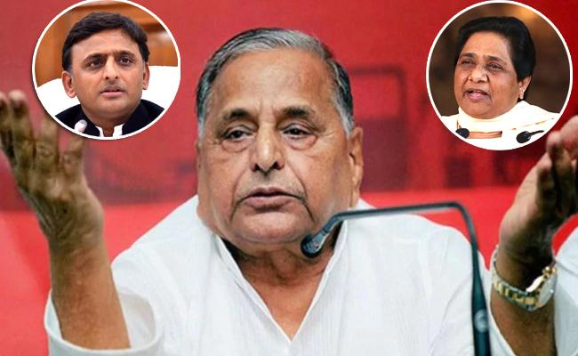 Mulayam Singh Yadav Displeased With SP And BSP Ally - Sakshi