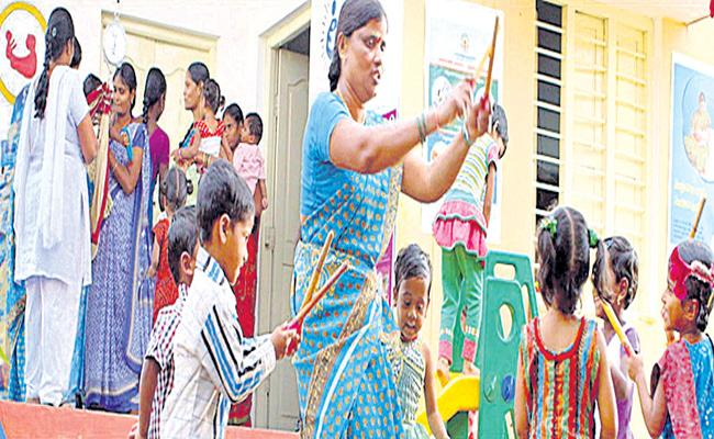 Anaganwadi Posts in Hyderabad Online Application Starts - Sakshi