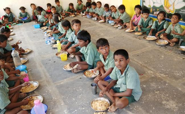 Egg Missing in Midday Meal Scheme - Sakshi