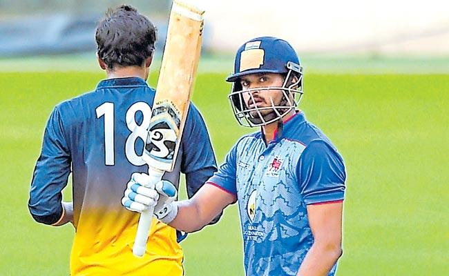 Shreyas Iyer smashes highest T20 score by an Indian batsman - Sakshi