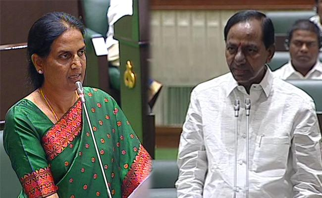 We take two women in Cabinet, Announces CM KCR - Sakshi