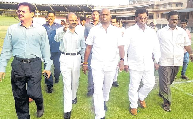 Sports Minister Srinivas Goud promises the government is keen to promote sports - Sakshi