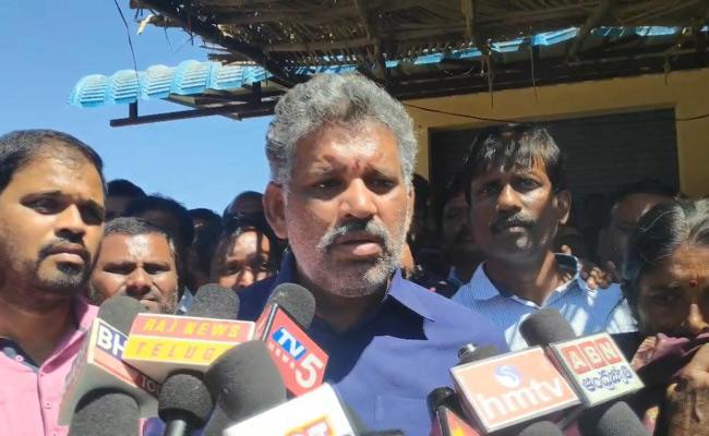 I Will Complaint To Election Commission Said By YSRCP MLA Chevireddy Bhaskar Reddy  - Sakshi