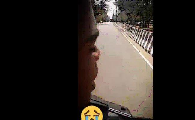 TikTok Video Goes Wrong And Student Dies After Speeding Bike Rams Into Bus - Sakshi