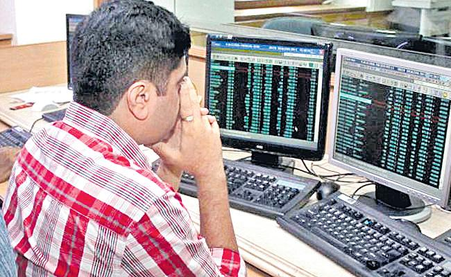 Sensex, Nifty slip on weak global sentiment - Sakshi