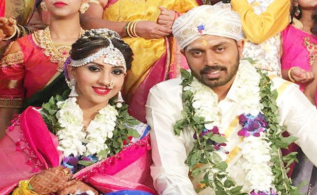 Kannada Actress Neha Patil Wedding in Karnataka - Sakshi