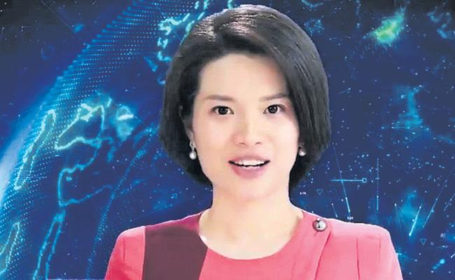 Shin Shaomeng AI Robot Working As News Anchor In China - Sakshi