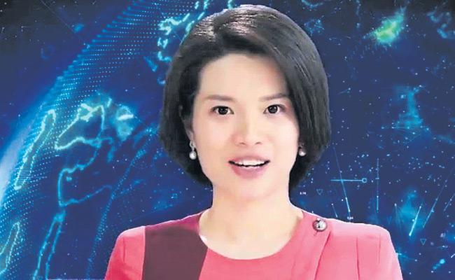 Shin Shaomeng AI Robot Working As News Anchor In China - Sakshi