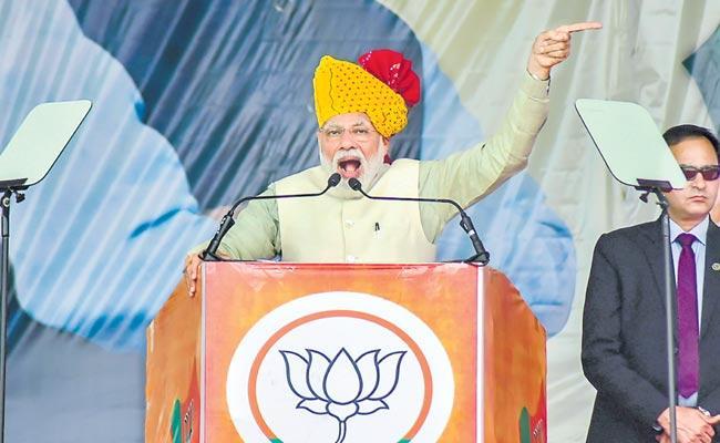 Prime Minister Modis indirect warnings to Pakistan - Sakshi