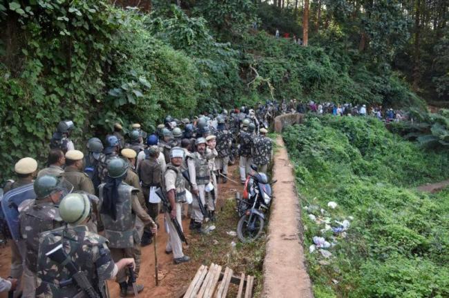 Adivasis face eviction from forest lands - Sakshi