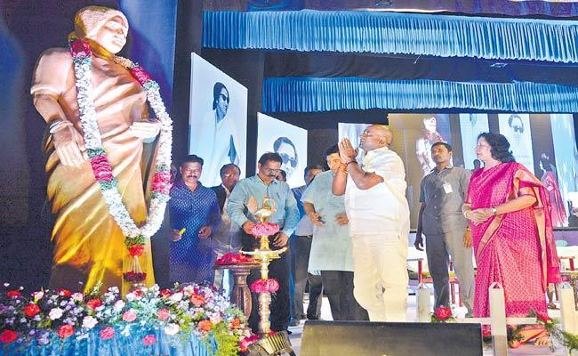 Eshwari Bai Death Anniversary At Ravindra Bharathi - Sakshi